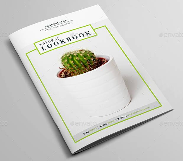 brand styles lookbook example