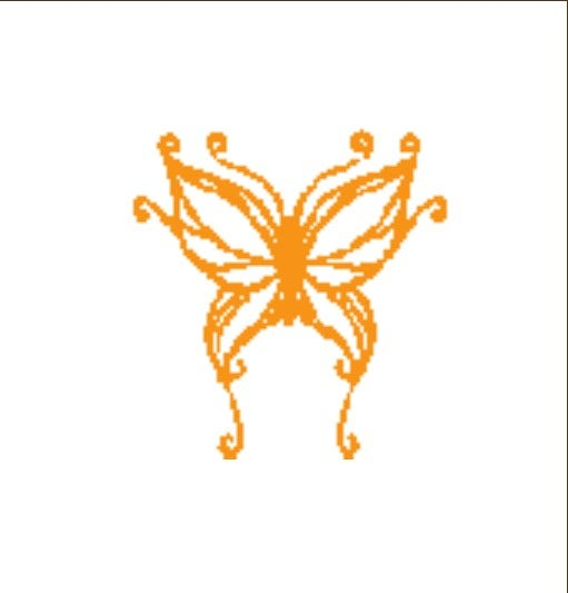 butterfly paper cutting template