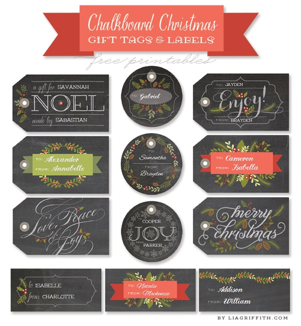 chalk-christmas-gift-tag-template