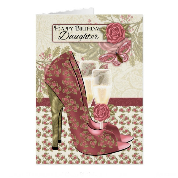 champagne-and-shoes-birthday-card-for-daughter-template