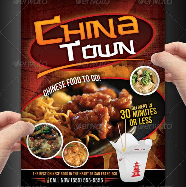 China Town Chinese Menu Template