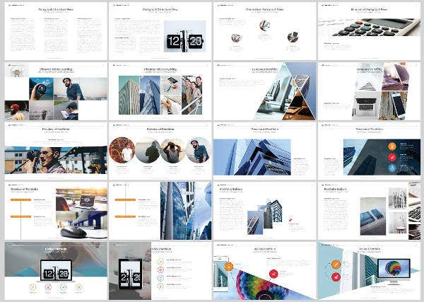 clean business powerpoint template