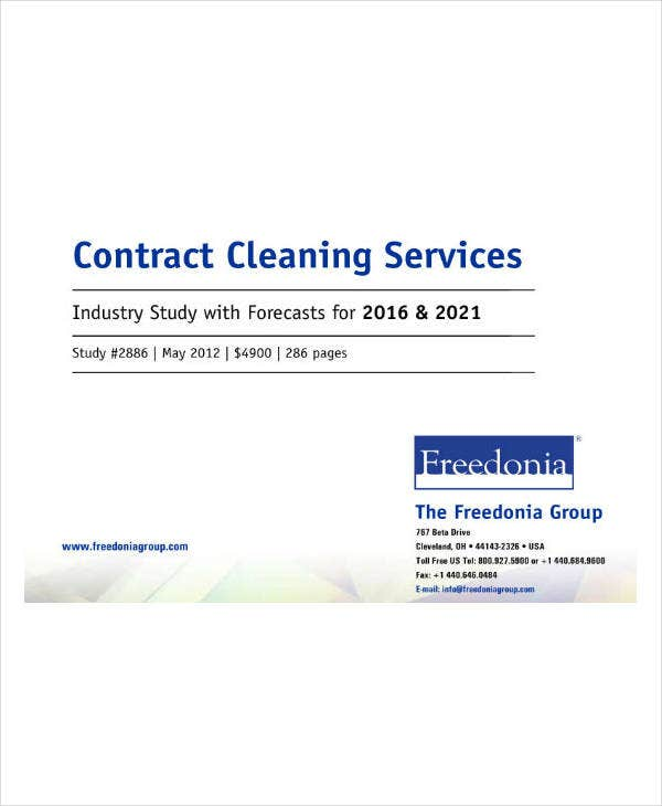 Cleaning Service Contract Guide