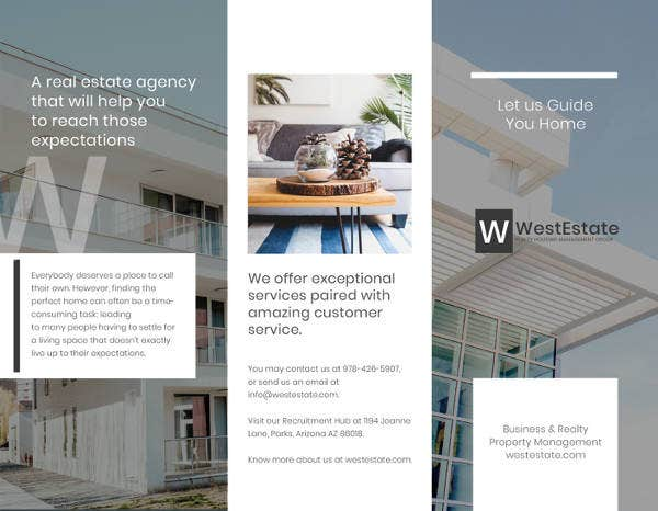 10 corporate real estate brochures design templates free