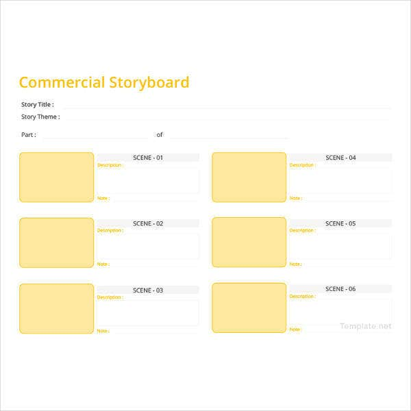 75 storyboard templates pdf ppt doc psd free premium templates commercial storyboard template maxwellsz