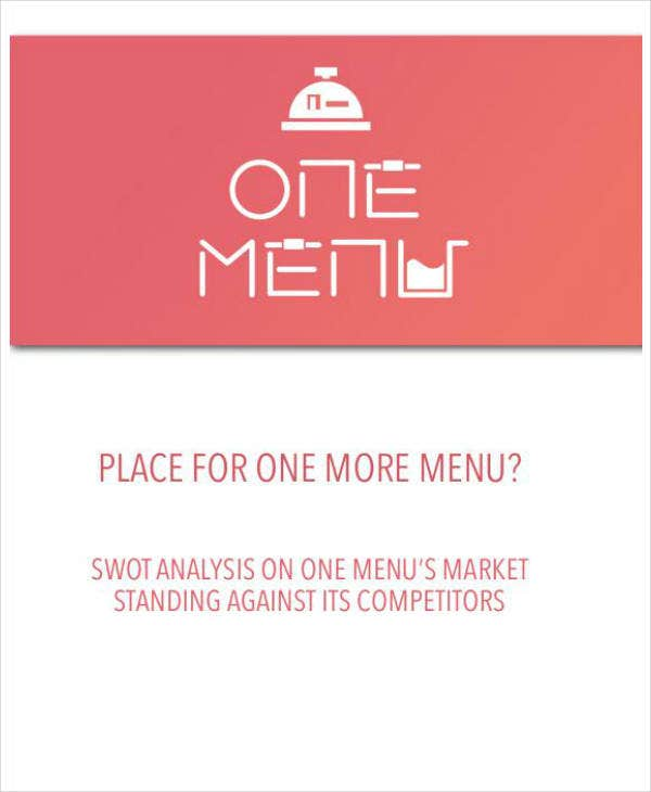 Comprehensive Restaurant SWOT Analysis Template