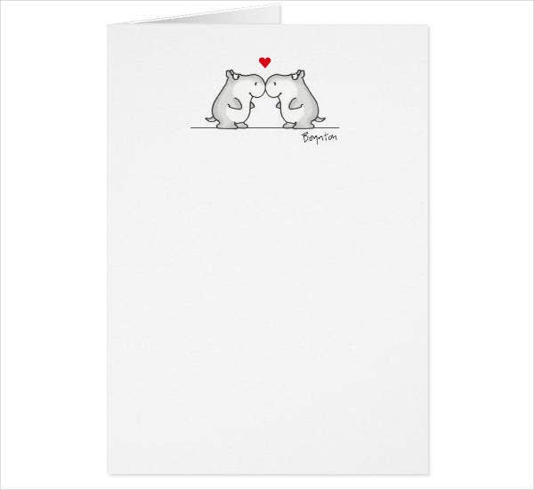 Cool Anniversary Card Template