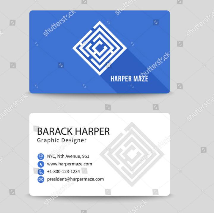 corporate-maze-business-card-vector-template