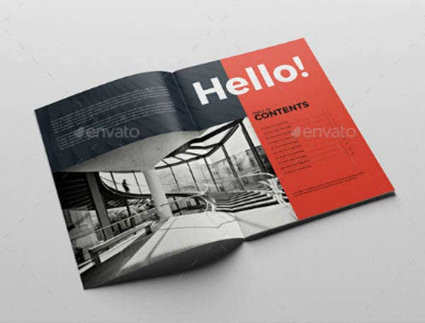 Corporate Vertical Brochure Template