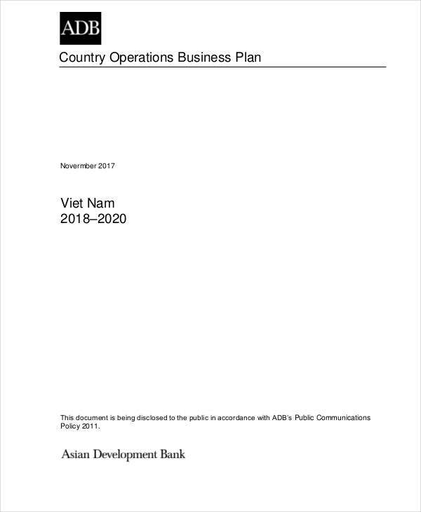 country business operation plan