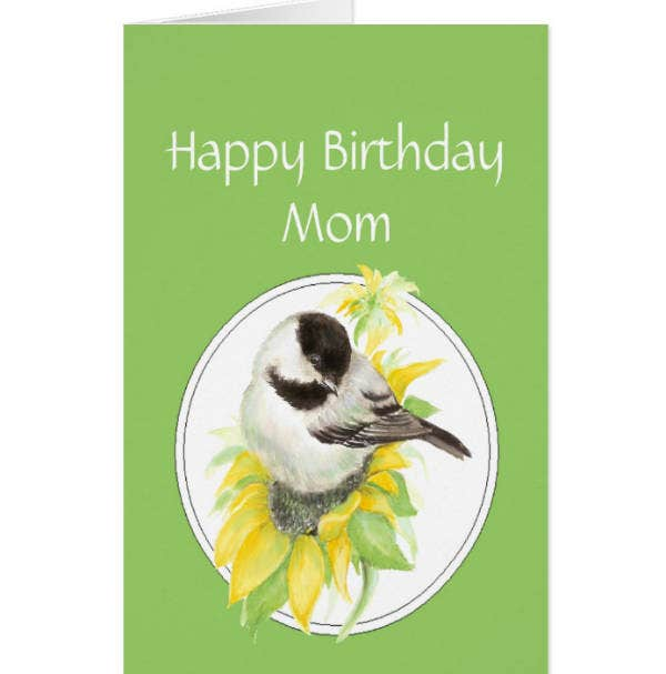 Creative Birthday Card for Mom Template