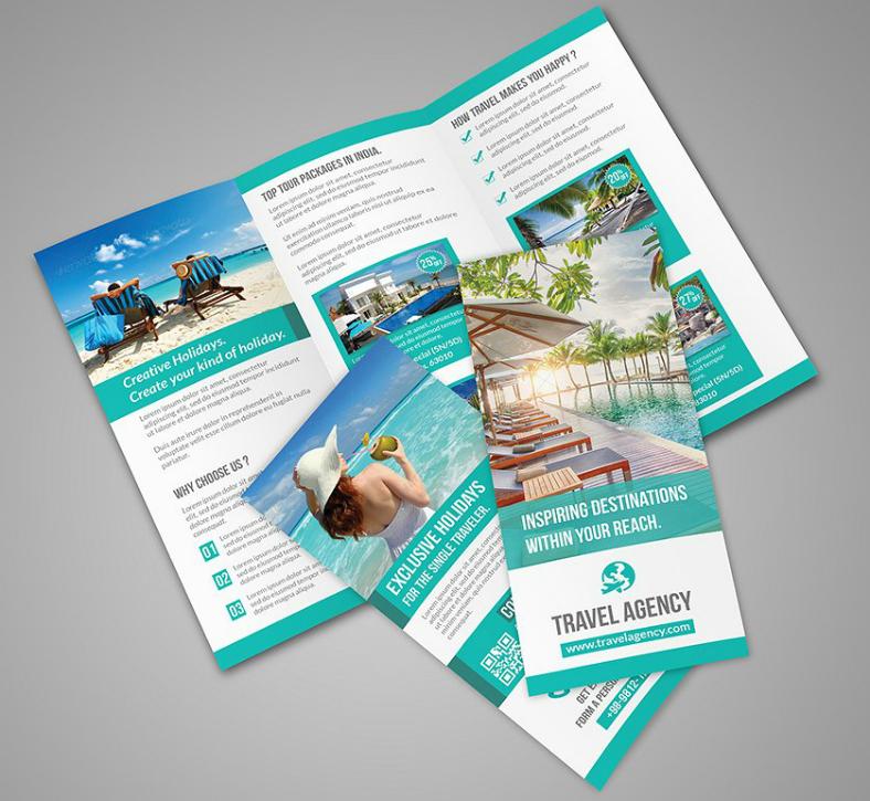 Vacation Brochure Template Gerhard Leixl