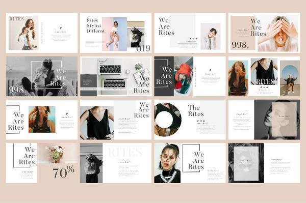Creative Keynote Presentation Template Bundle