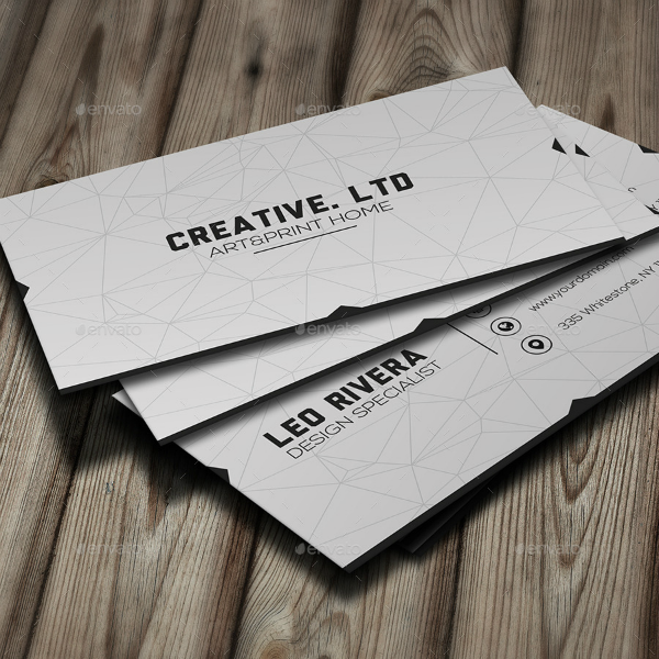 Creative Limited Minimal Business Card