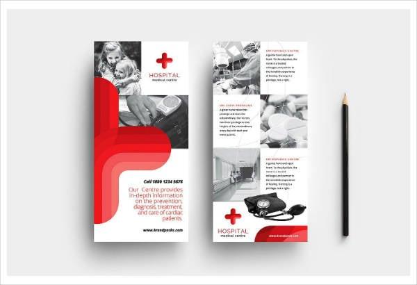 Creative Medical Rack Card Template