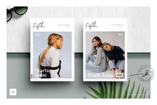 Creative Minimal Magazine Template