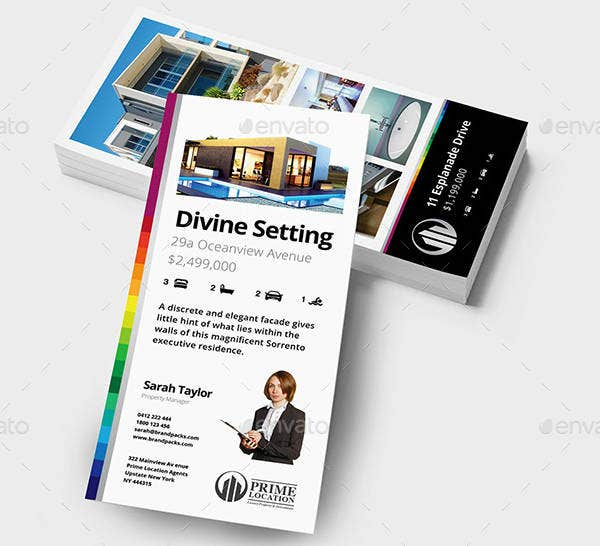 Creative Real Estate Rack Card