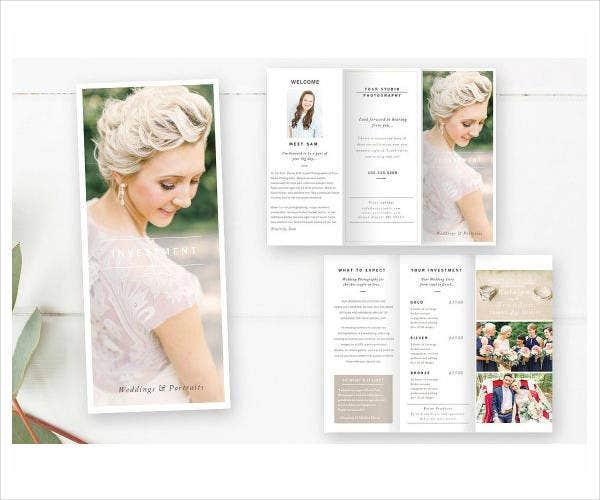 Creative Wedding Photography Brochure