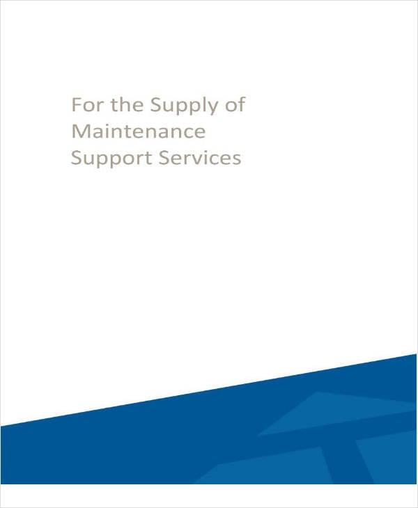 Customer Maintenance Service Sample