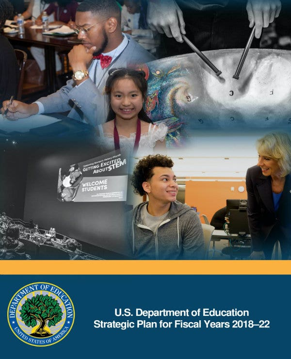 department of education strategic plan 01