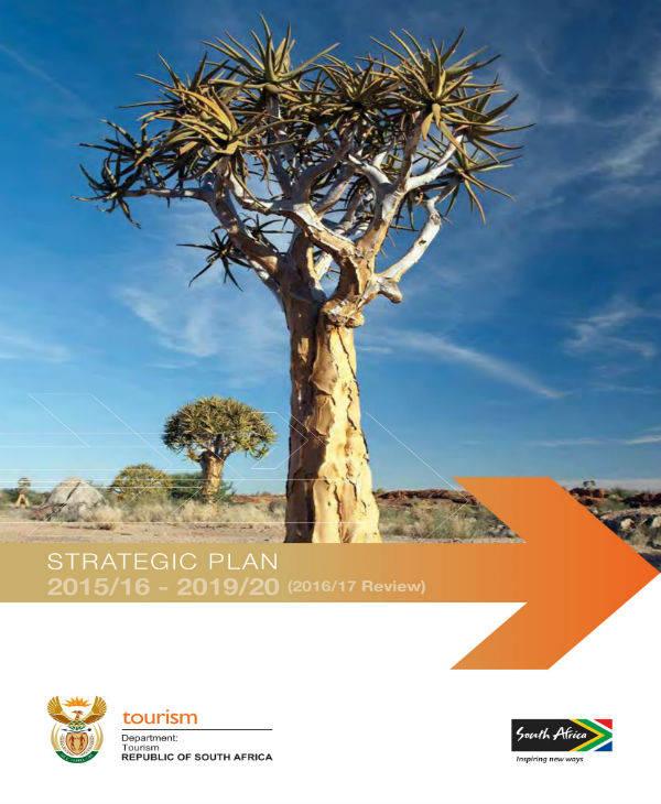department of tourism strategic plan