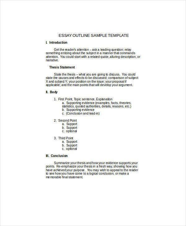 free descriptive essay templates   pdf doc  free  premium  descriptive essay outline