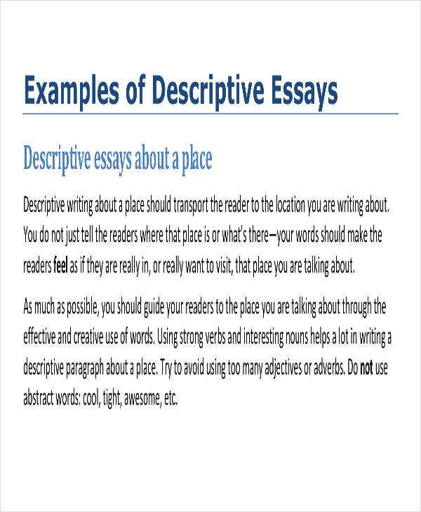 Comparative essays introduction