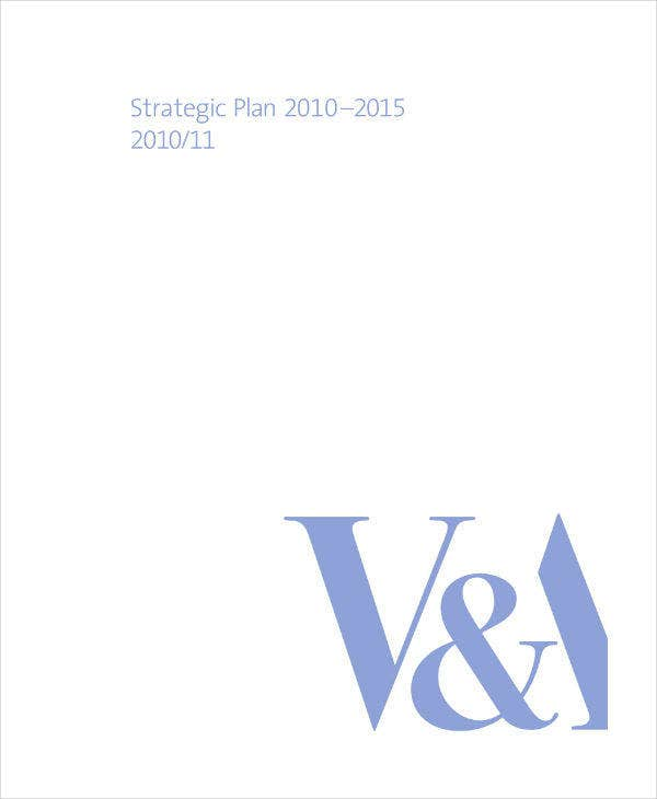 Design Museum Strategic Plan Sample