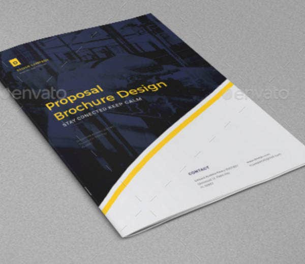 Design Proposal Brochure Template