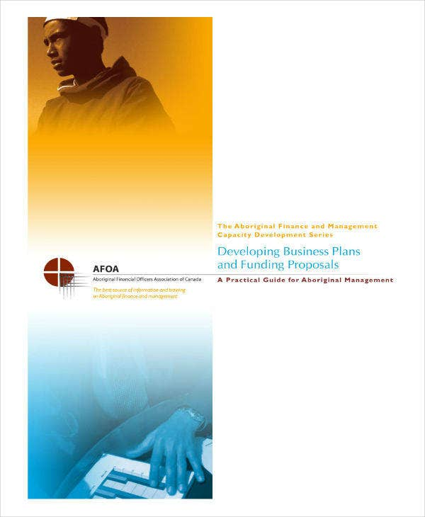 Developing Business Plan & Funding Proposal