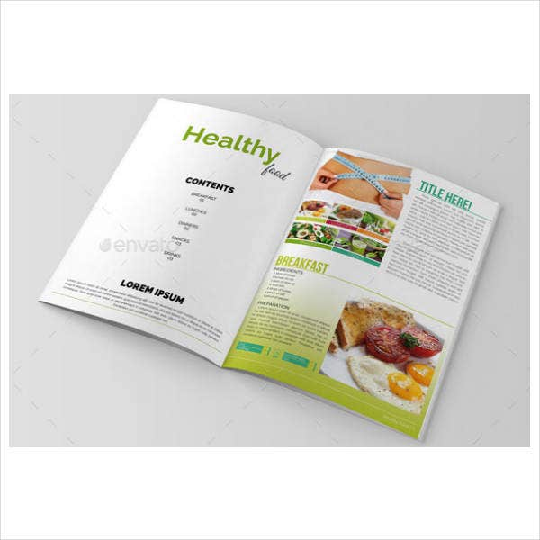 Diet Food Brochure Template