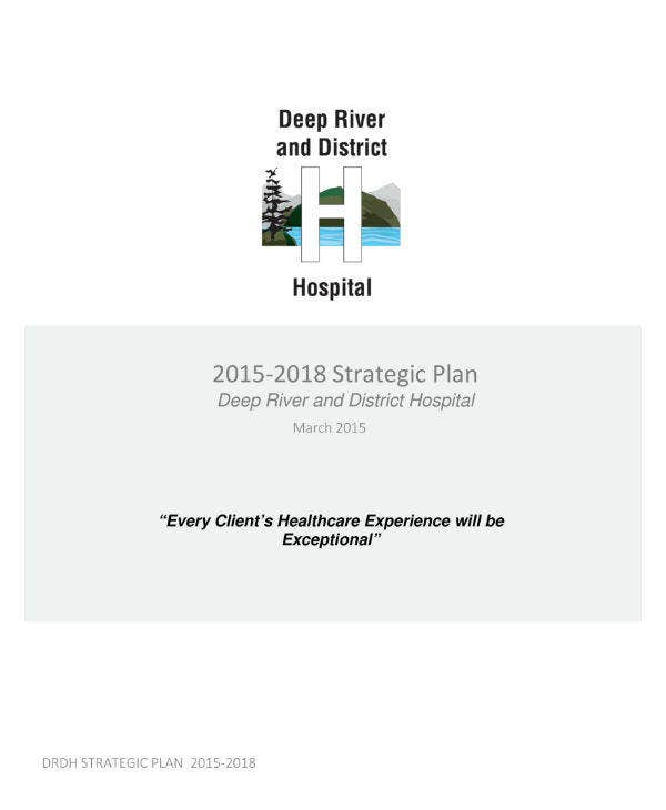 District Hospital Strategic Plan Template