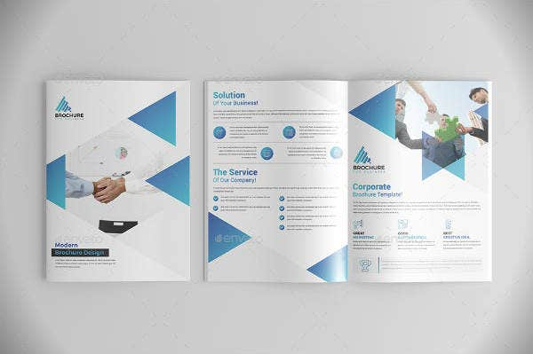editable bi fold vertical brochure template1