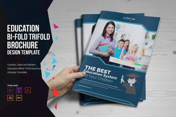 education brochure format