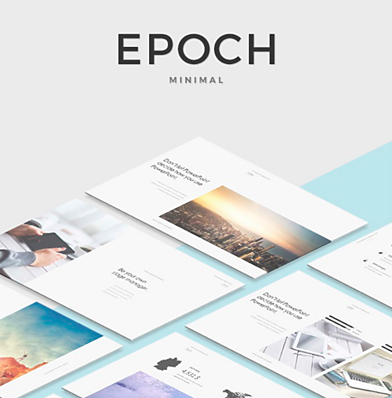 Epoch Minimal Keynote Template