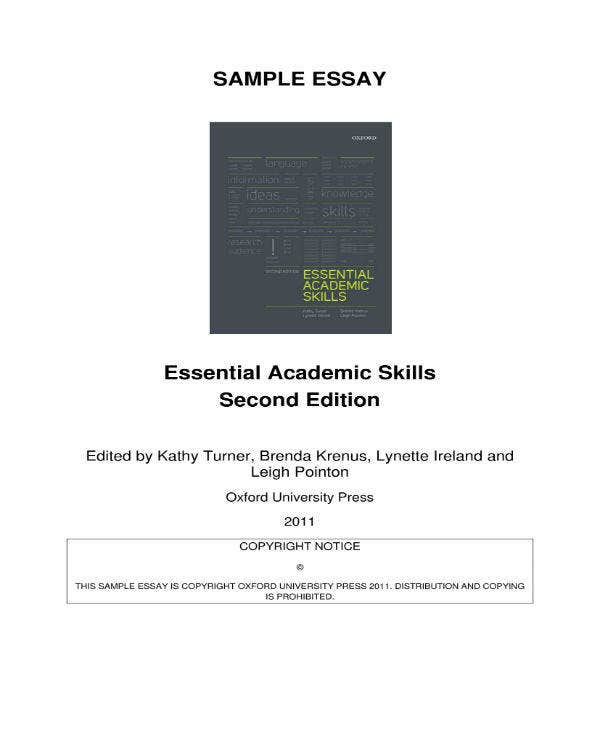 Essential Academic Essay