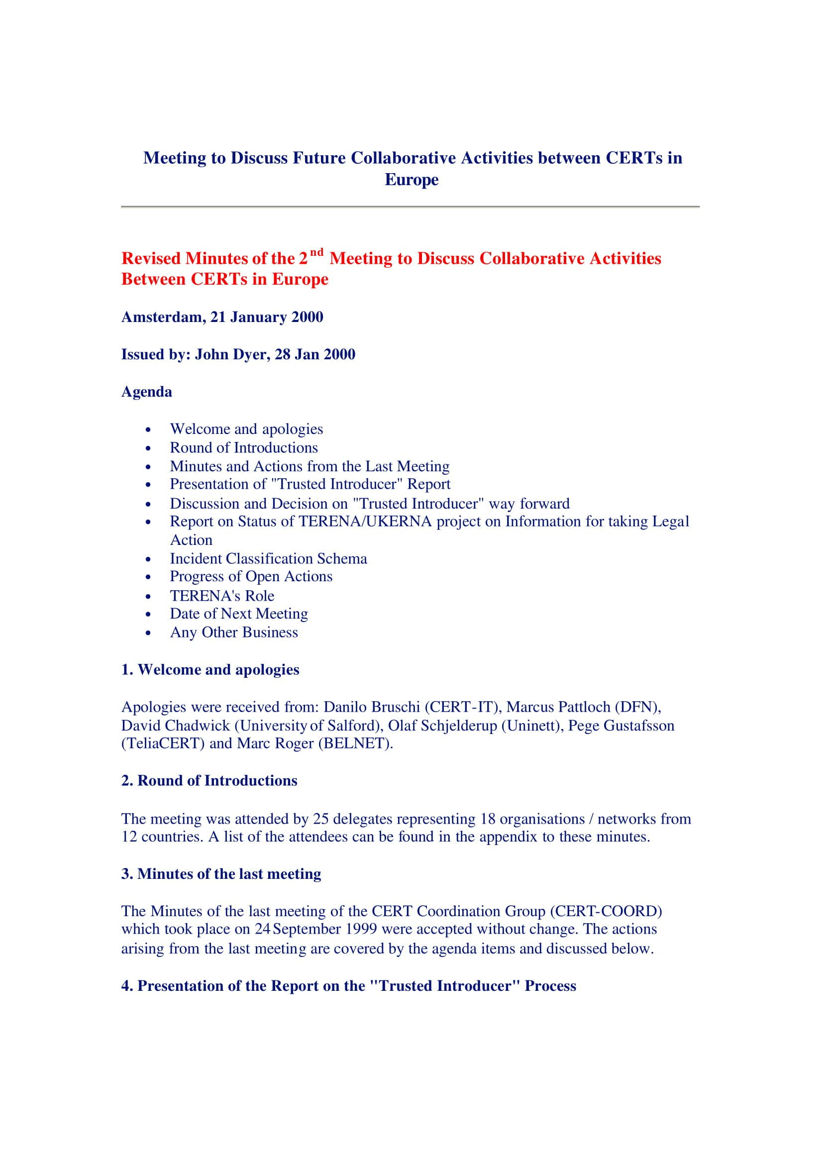 europian professional meeting minutes template 01