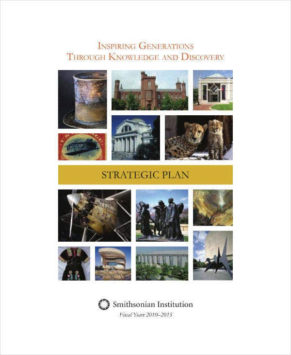 Example Strategic Plan for Museum Institution