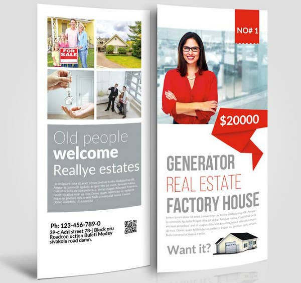 Factory House Real Estate Rack Card
