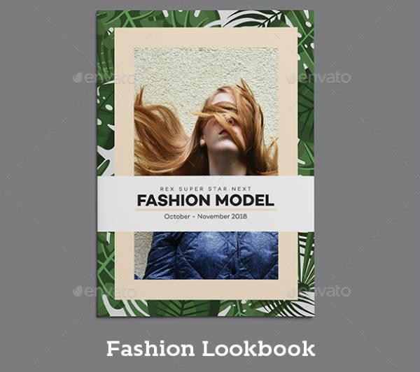 Fashion Model Lookbook Template
