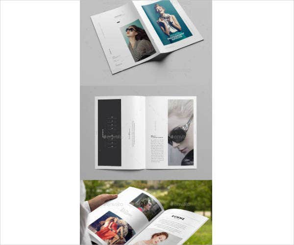 Fashion Photography Brochure Design