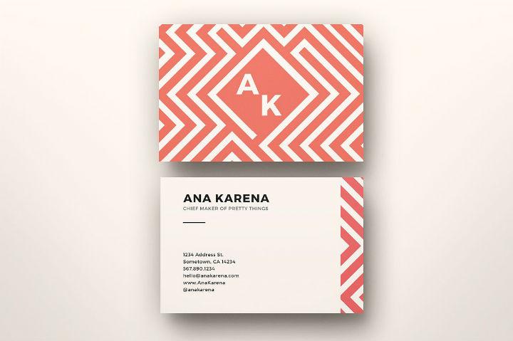 feminine-maze-business-card-template