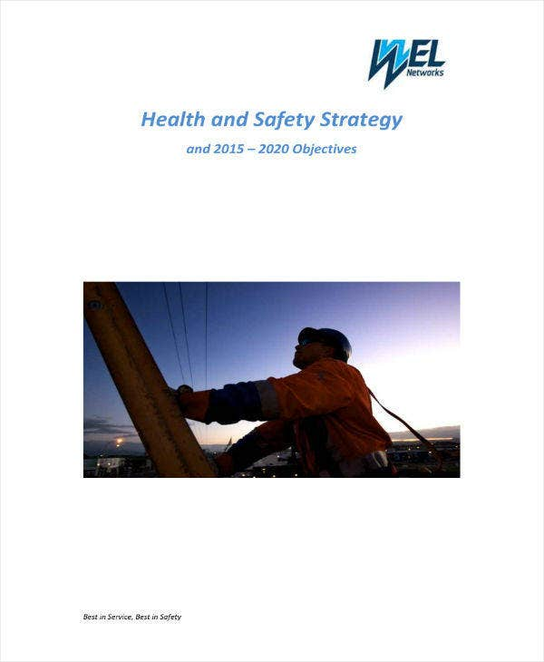 Final Health & Safety Strategy Plan
