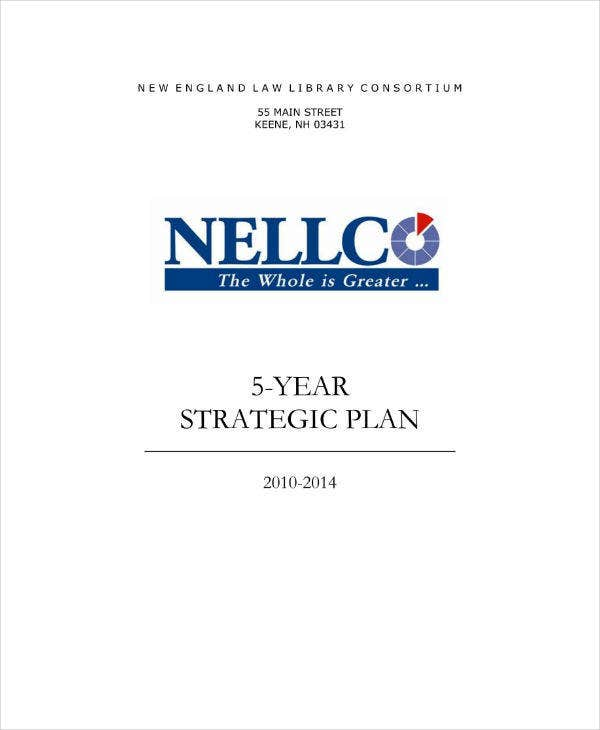 Final Strategic Plan Sample