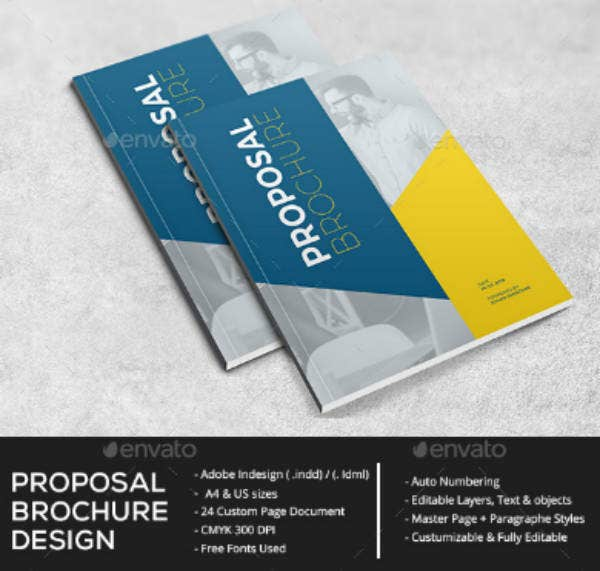 Flat Proposal Brochure Template