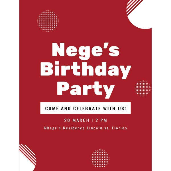 Free Birthday Program