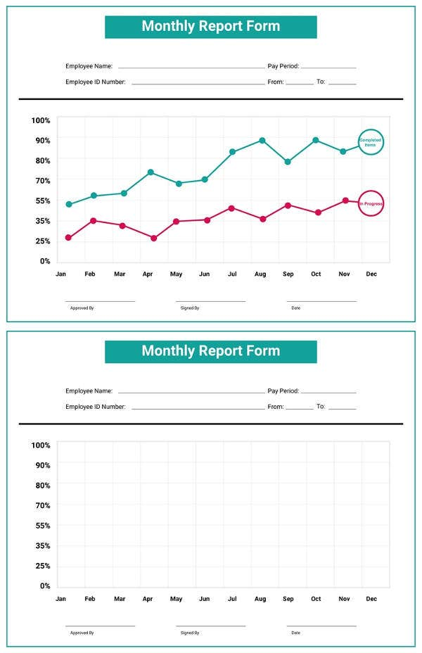 free monthly report