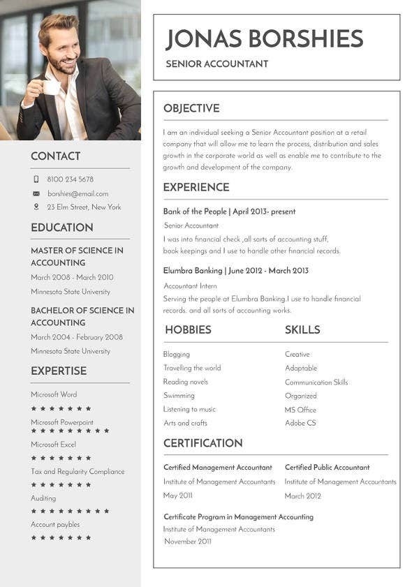Free-Professional-Banking-Resume Teacher Resume Format With Download To Word on