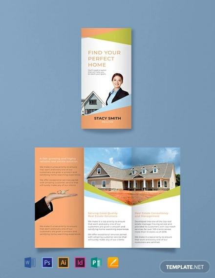 free realtor brochure template1