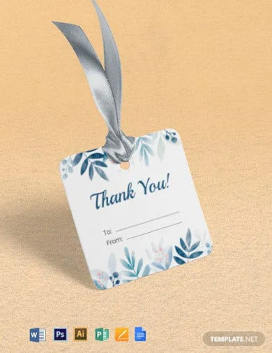 gift tags label template